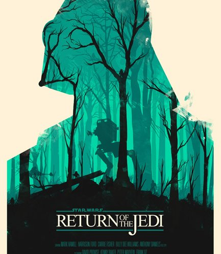 Star Wars movie posters by Olly Moss